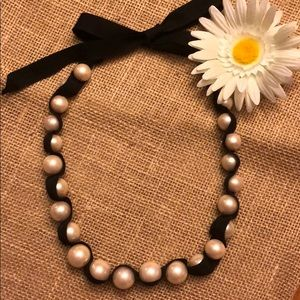 Stella and Dot Vintage Jenna Pearl Necklace